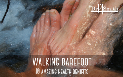 Top 10 amazing heath benefits of walking barefoot